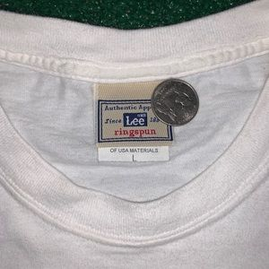 Vintage Shirts - Vintage Lee Sport Air Force Tee Size Large 90s